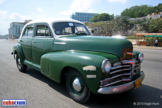 Chevrolet 1948 Cars In Cuba Cuba Autos Org