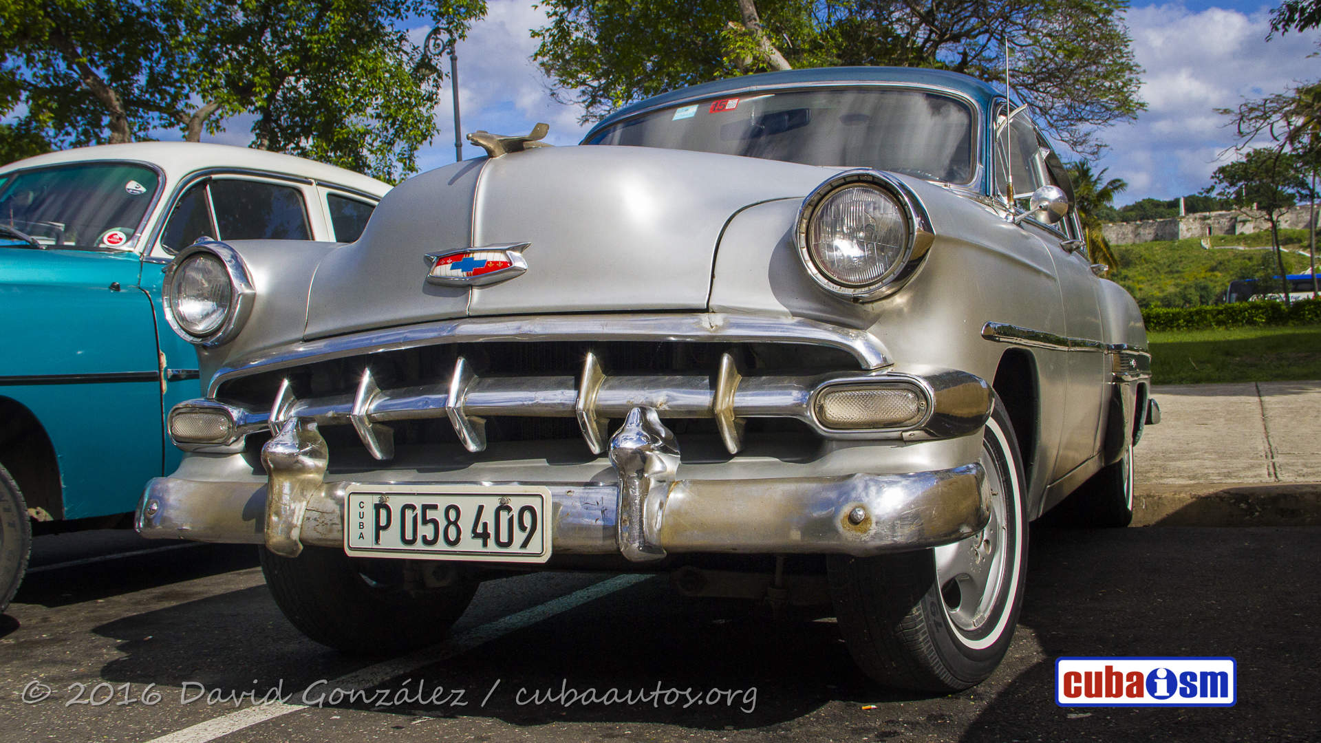 Chevrolet Cars In Cuba Bel Air 4 Door Hard Top From 1954 Autos Org