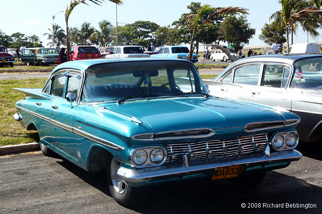 cuba autos .org - Chevrolet, 1959, Bel Air Sport Sedan, Havana
