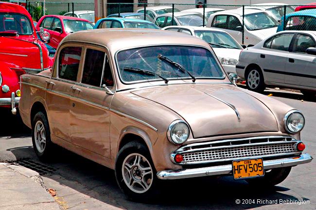 Hillman Cars In Cuba Minx Sedan From 1959 Cuba Autos Org