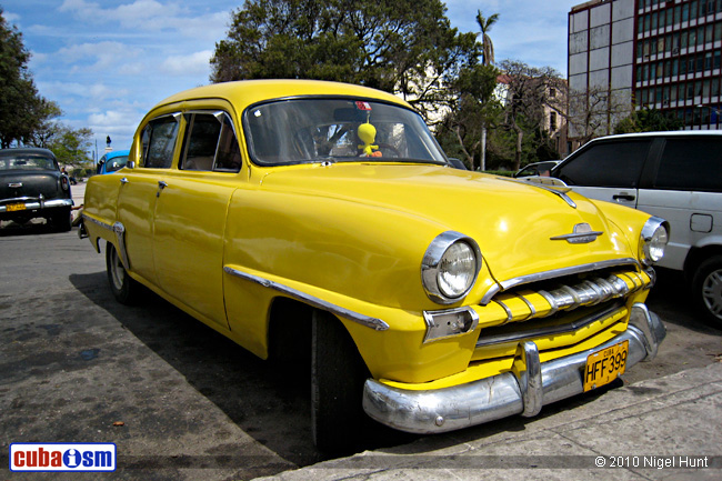 Plymouth Cars In Cuba Cranbrook From 1953